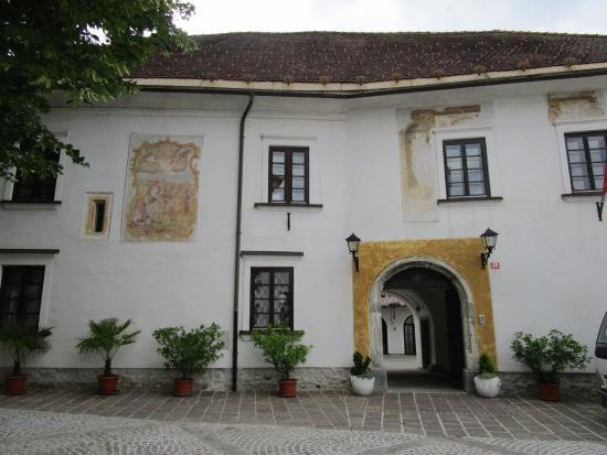 Radovljica, Slovenien: old town