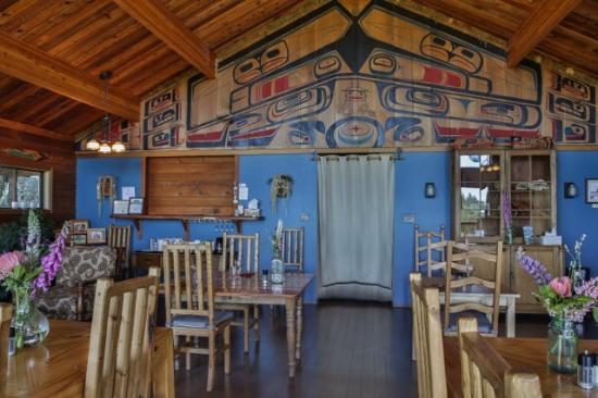 Port Renfrew, Canadá: Dining Room