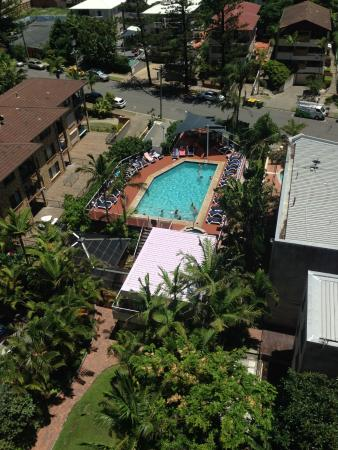 Surfers Century Apartments: Pool