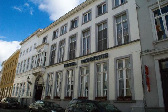 Hotel Patritius: Facade of Hotel