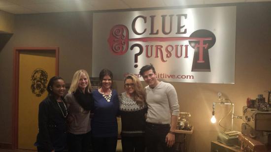 Clue Pursuit