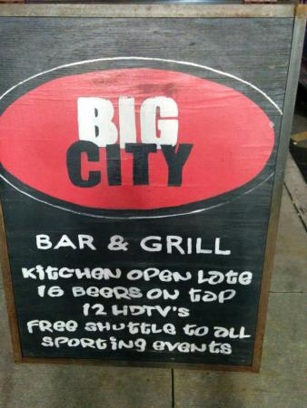 Big City Bar & Grill
