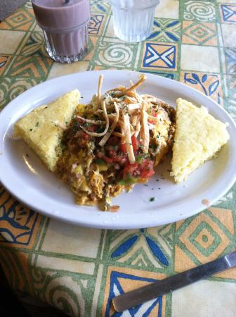 Downtown Cafe: Southwest Scramble