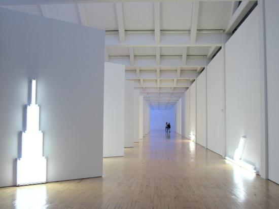 Beacon, estado de Nueva York: Dan Flavin Lights
