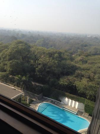The Oberoi, New Delhi: View from our room!