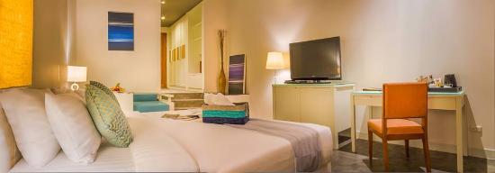 Aonang Cliff Beach Resort: Superior room