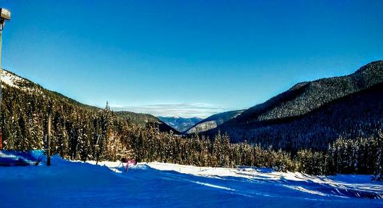 Manning Park, Canadá: Beautiful sunshine and snow
