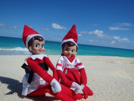 แอทแลนติส-รอยัล ทาวเวอส์: We found our kids elves spending time on the beach.