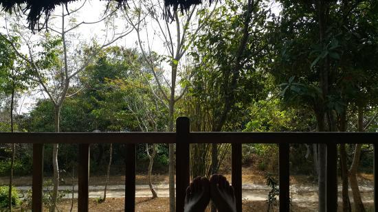 Mango Bay Resort: 숙소 테라스
