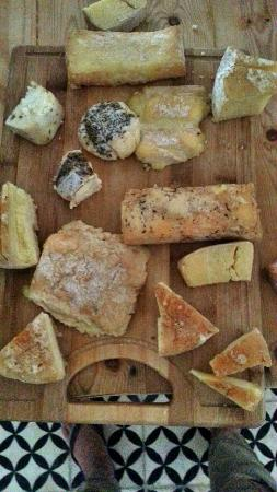 #Cheese #Essaouira Goat Cheese Selection at Abderazak's