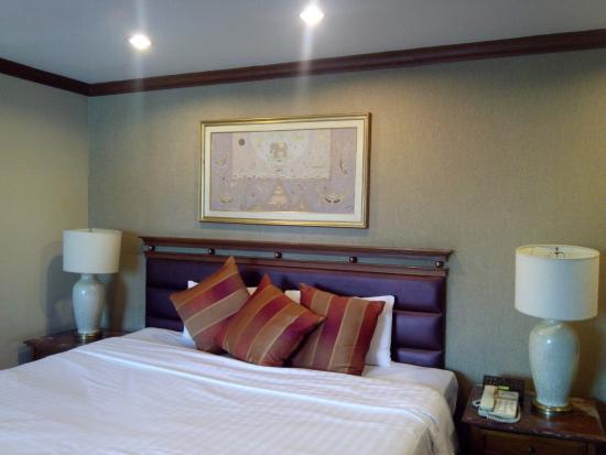 President Solitaire Hotel & Spa: Bedding