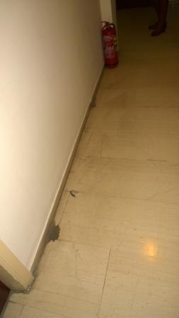 Apollo Hotel: hotelowy korytarz