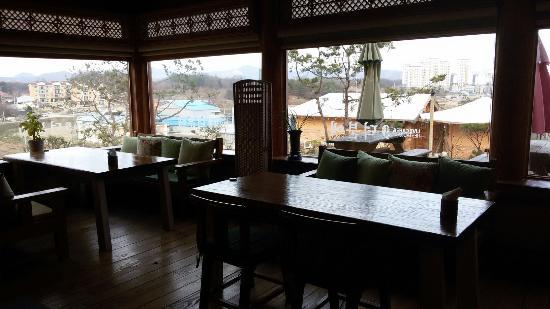 Geumsan-gun, Южная Корея: 덕분에레스토랑