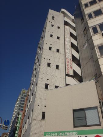Koishikawa Ukiyo-e Museum: 入り口がものすごく分かりにくいビル