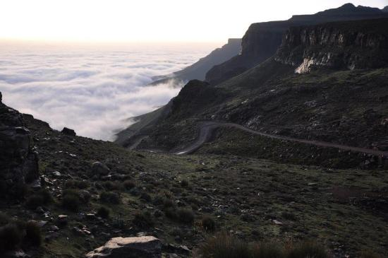 Sani Mountain Lodge: Sani Pass view