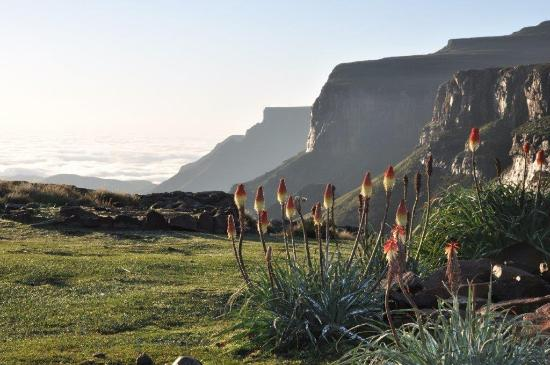 Sani Mountain Lodge: Sanipass viewsite