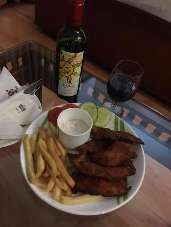 710f23fead0 Fish n Chips with Red Wine - Picture of The Renai Cochin, Kochi ...