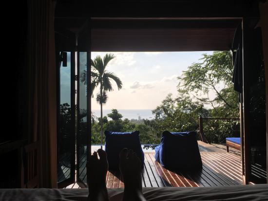 The Place Luxury Boutique Villas: View from the room (Villa 3)