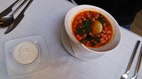 Cronwell Inn Stremyannaya: Soup