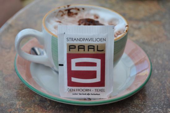Hotel Boschrand : Drink ook eens een kop koffie bij Paal 9. Prachtig uitzicht over zee.