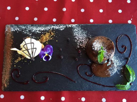 Twizel, Nueva Zelanda: Pièce de résistance - chocolate fondant!