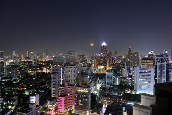 라파르트에서 바라본 방콕시내 야경 - Picture of L'Appart - Sofitel Bangkok ...