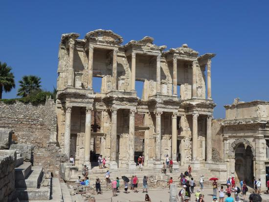 Library - Picture of Ancient City of Ephesus, Selcuk ...