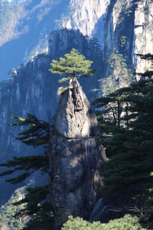 Mt. Huangshan (Yellow Mountain): le pinceau