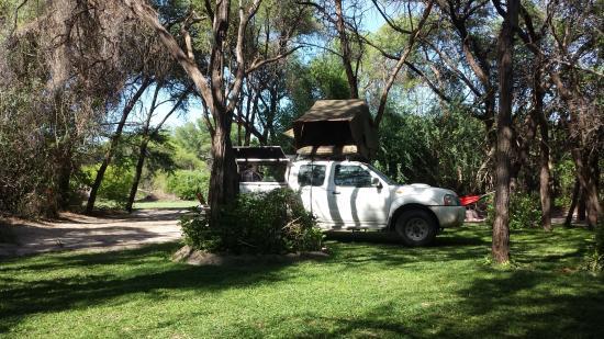 Guma Lagoon Camp: Campsite