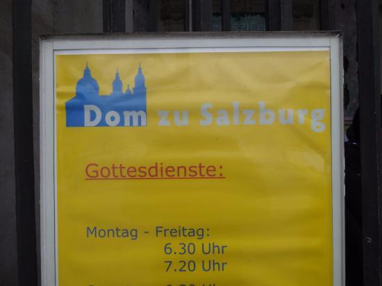 Salzburger Dom: собор