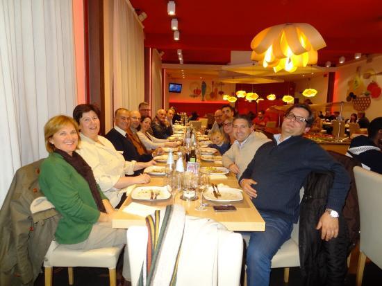 Hotel Ristorante Due Ragni: la salle convient pour les repas d'affaires