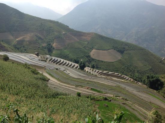Lao Cai Province, Vietnam: On the way trek