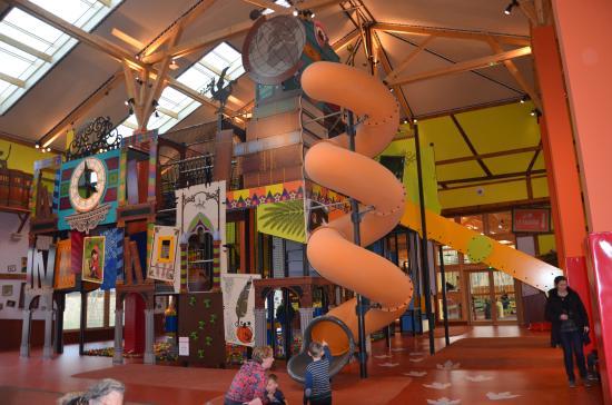 Jeux enfants (action factory) Photo de Center Parcs Domaine Le Bois Aux Daims, Les Trois  # Avis Center Parc Bois Aux Daims