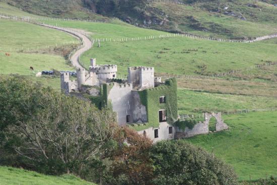 Clifden Castle: darcys castle