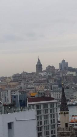 Neorion Hotel: Terrace View - Amazing! - Istanbul, Turkey