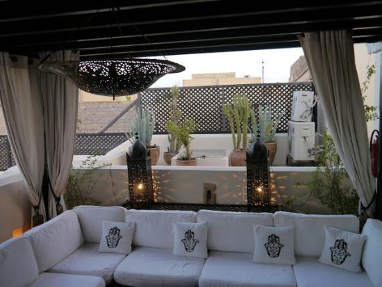 Riad Adore: Terrace