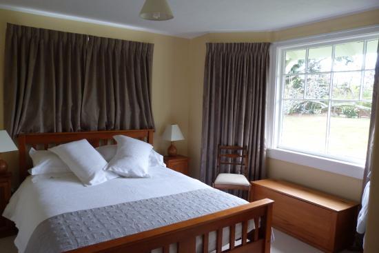 Amberley, New Zealand: The bedroom