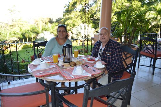 Ringle Resort Hotel & Spa: Zona para el desayuno
