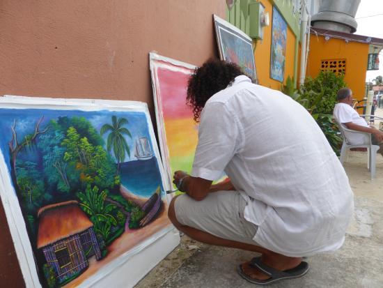 Seaside Cabanas: Caye Caulker