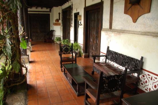 Hotel Posada de Don Rodrigo: Patio