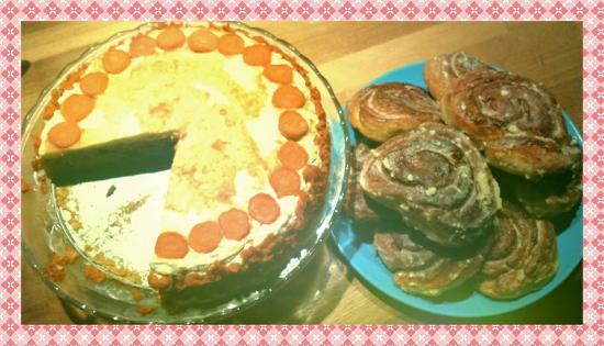 BloemGracht : Carott Cake & Cinnamon Rolls