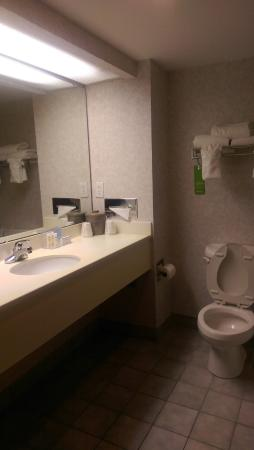 Hampton Inn High Point: Bathroom