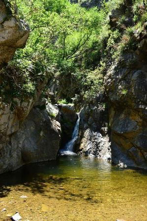 Valle Hermoso, Argentina: Cascada del angel y la de los helechos
