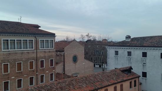 Hotel Belle Arti: panorama dalla finestra