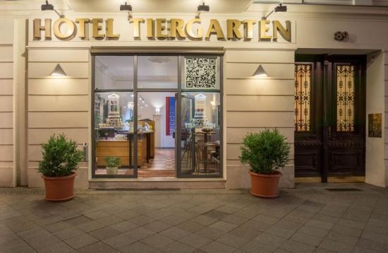 Hotel Tiergarten: Eingang