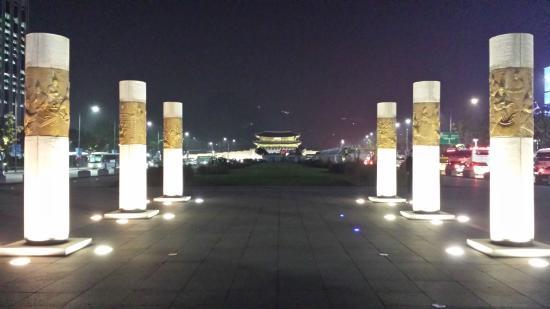 Resultado de imagen de plaza gwanghwamun trip advisor