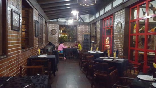El Conejito: Помещение ресторана (пустое)