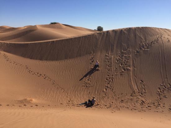 Zamzam Riad: Sand Boarding