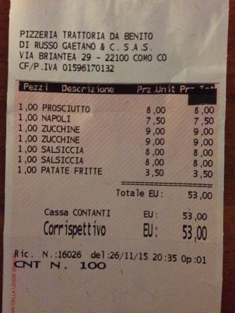Pizzeria Trattoria Da Benito: photo0.jpg