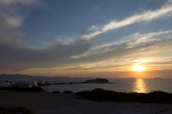 Hotel Grotta: sunset view